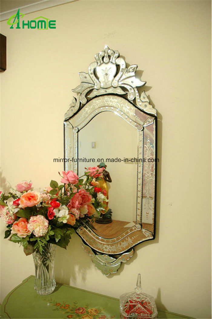 China Traditional Venetian Bathroom Decorative Antique Wall Mirror ...