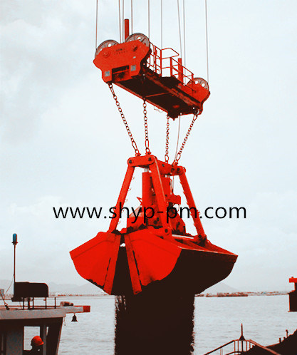 Motor Hydraulic Dual Scoop Grab with CCS Certificate pictures & photos