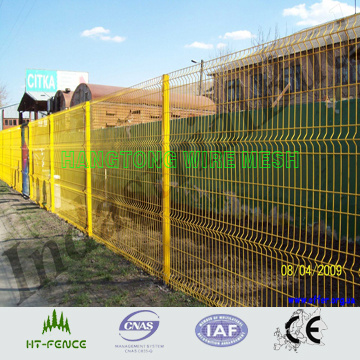 PVC Coated Weld Panel Fence / PVC Coated Wire Mesh Fencing