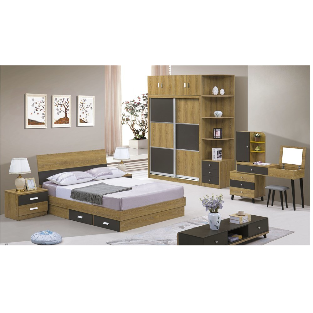 China Hot Sale High Quality Cheap Price Bedroom Furniture Set King