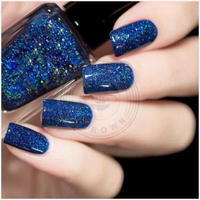 China Starry Holographic Laser Nail Glitters Dust Manicure Nail Art ...