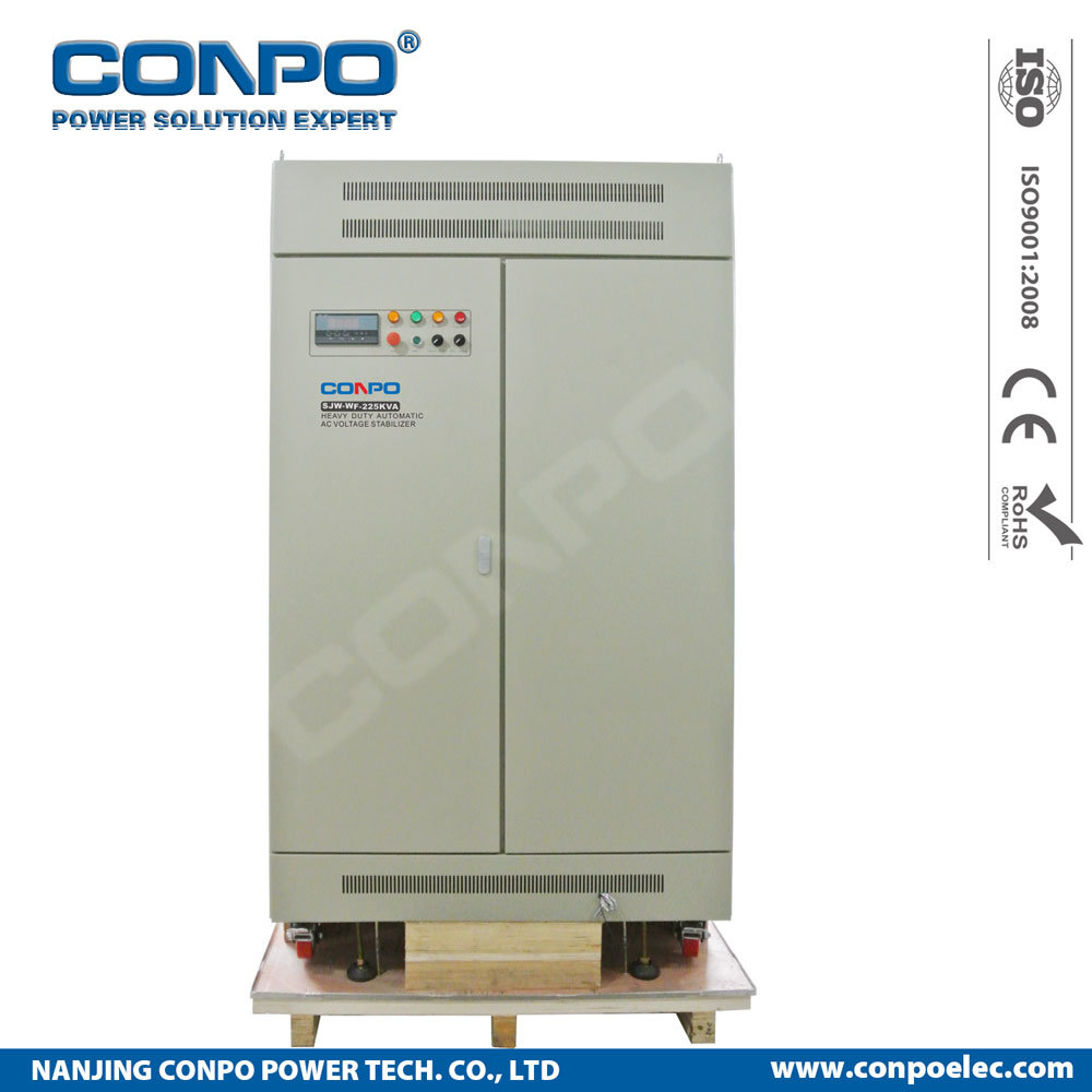China Jw Wf 225kva 3phase Electronic Heavy Duty Scr Igbt Thyistor High Power Alarm Driver Circuit Design Contactless Voltage Stabilizer Regulator