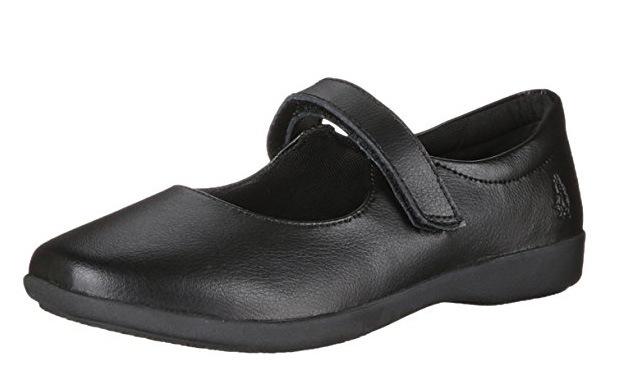 China Stock School Shoes, Black