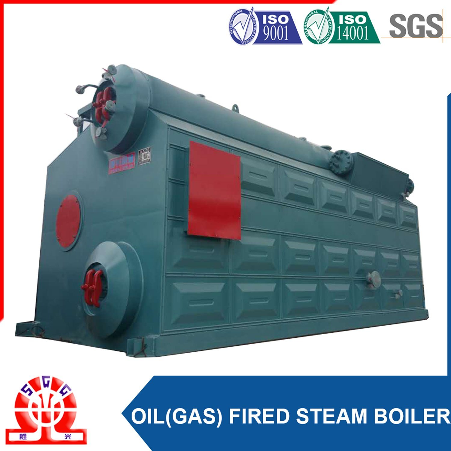 China Double Drum Gas (oil) Fired Boiler Steam Output Photos ...
