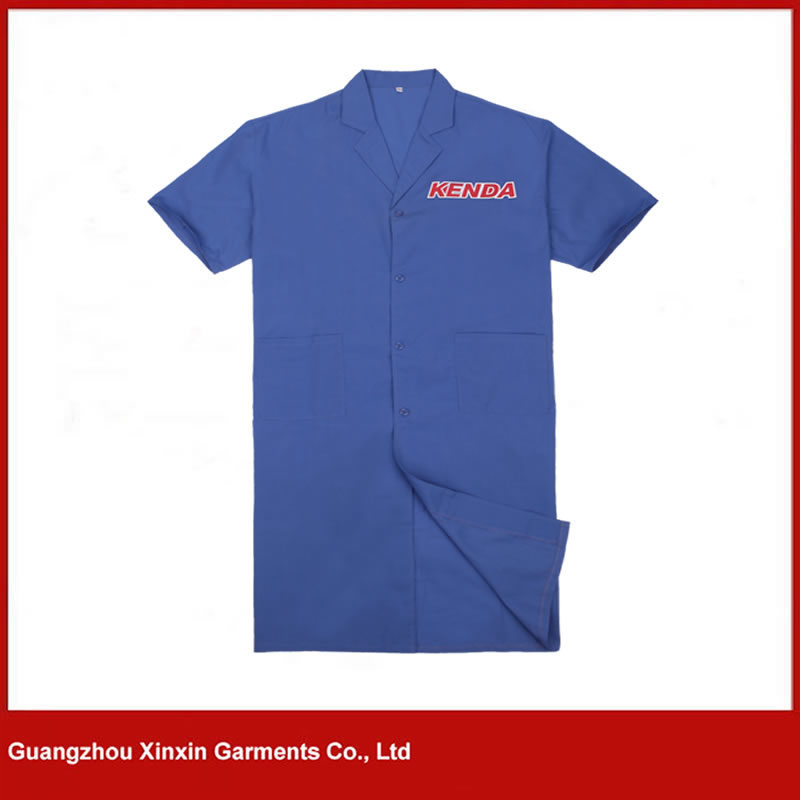 Custom Made Short Sleeve Work Coverall for Summer (W271) pictures & photos