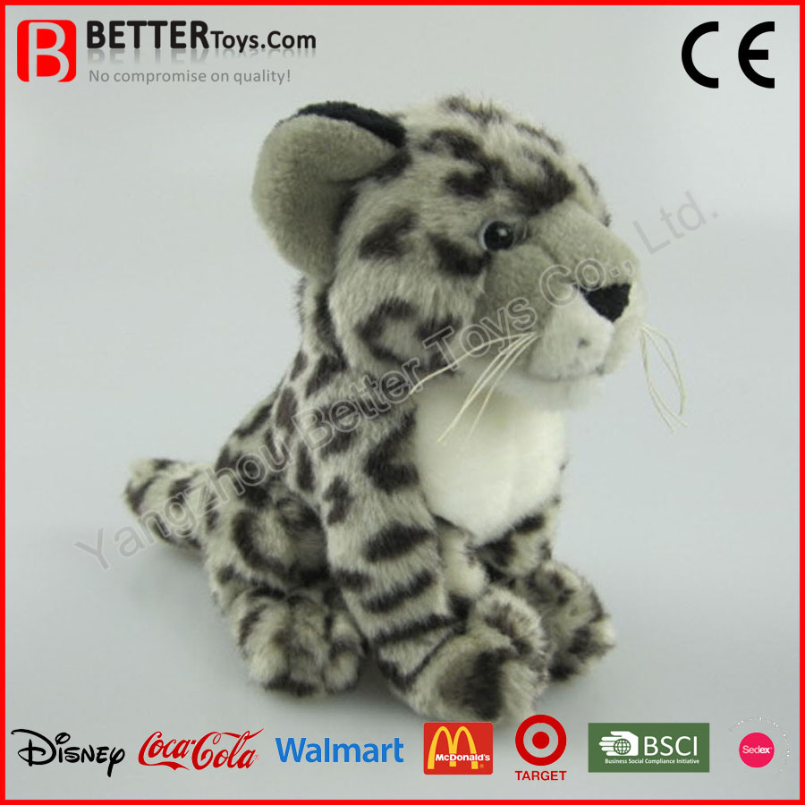 2b7cfede7dbc China En71 Lifelike Stuffed Plush Animal Soft Snow Leopard Toy for Kids - China  Plush Toy Leopard, Stuffed Leopard Toys