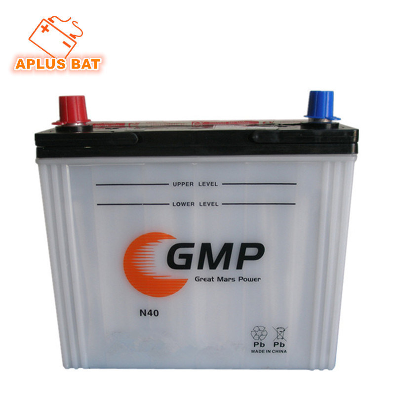 Lead Acid Dry Storage Automobile Rechargeable Starting Battery 12V40ah N40