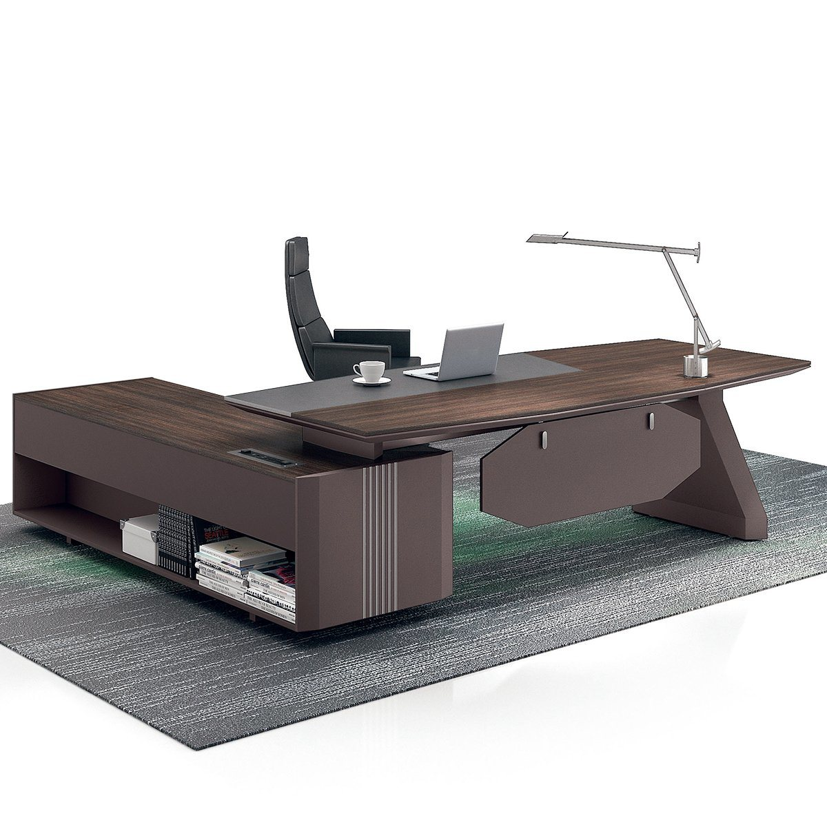 Image of: China Modern L Shaped Hdf Executive Manager Furniture Office Desk China Furniture Office Desk Executive Manager Desk