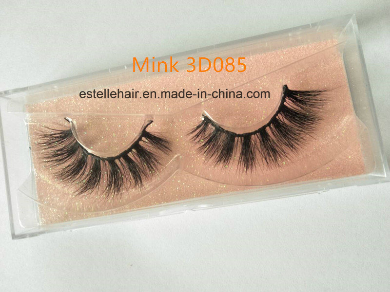 China Hot Sale Mink 3d Lashes Handmade Natural Mink Eyelash China