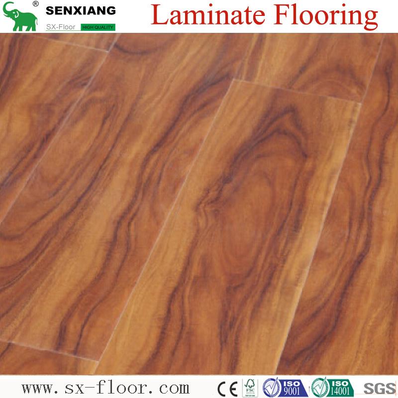 China Asia Natural Wood Texture Hdf Ac4 Durable Commercial Laminate Flooring Laminated