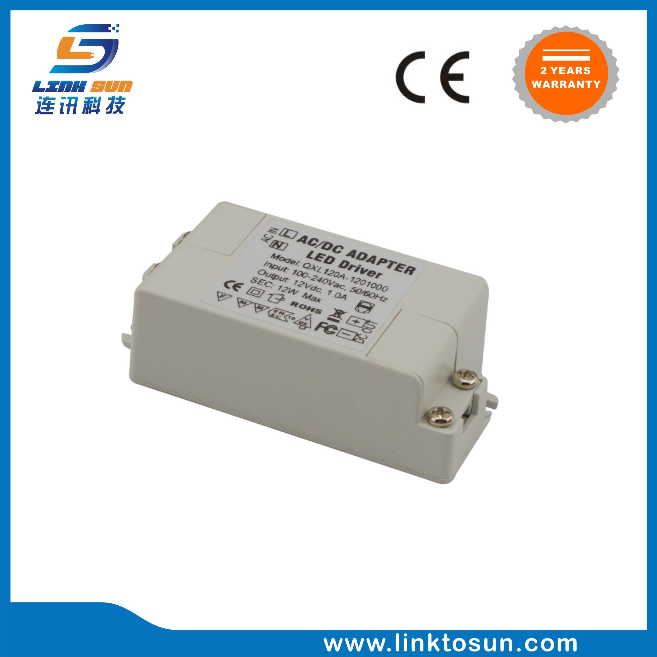 China 12w 12v 1a Constant Voltage Led Driver 2 Years Warranty Photos Smps 50 Watt Street Light Circuit Electronic