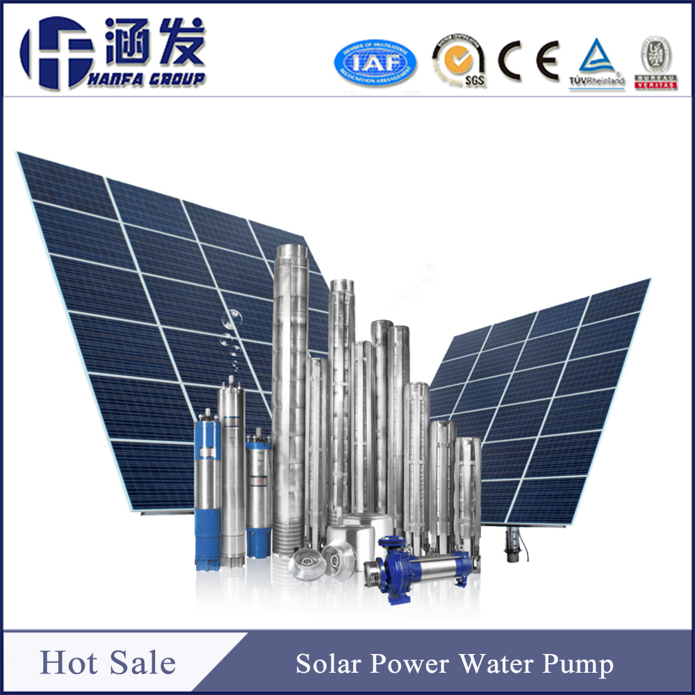 DC Brushless Motor Submersible Deep Well Pump Home Use Garden Irrigation Price Solar Water Pump for Agriculture pictures & photos