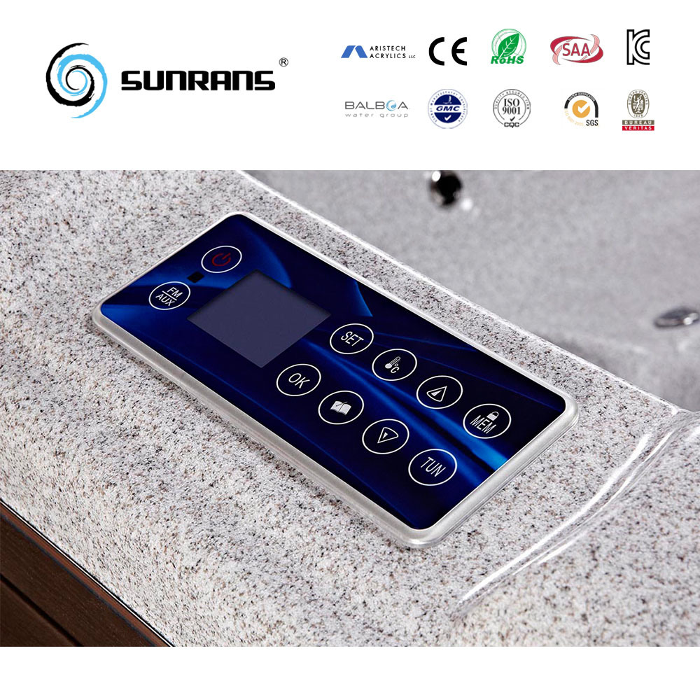 China Sunrans Hot Sale Ce Approved Indoor Freestanding SPA Wood ...
