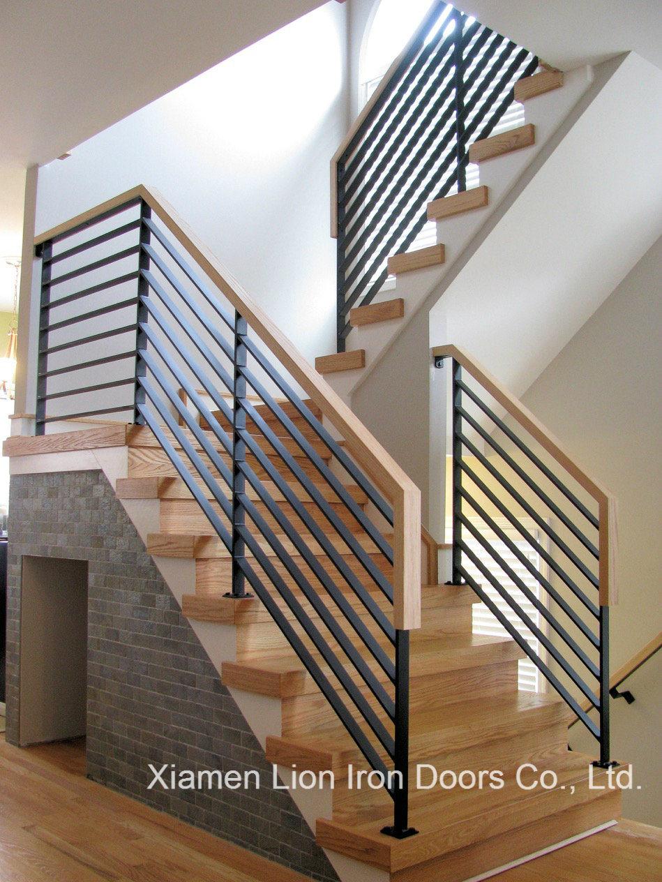 [Hot Item] Galvanized Decorative Wrought Iron Indoor Handrails for Villa