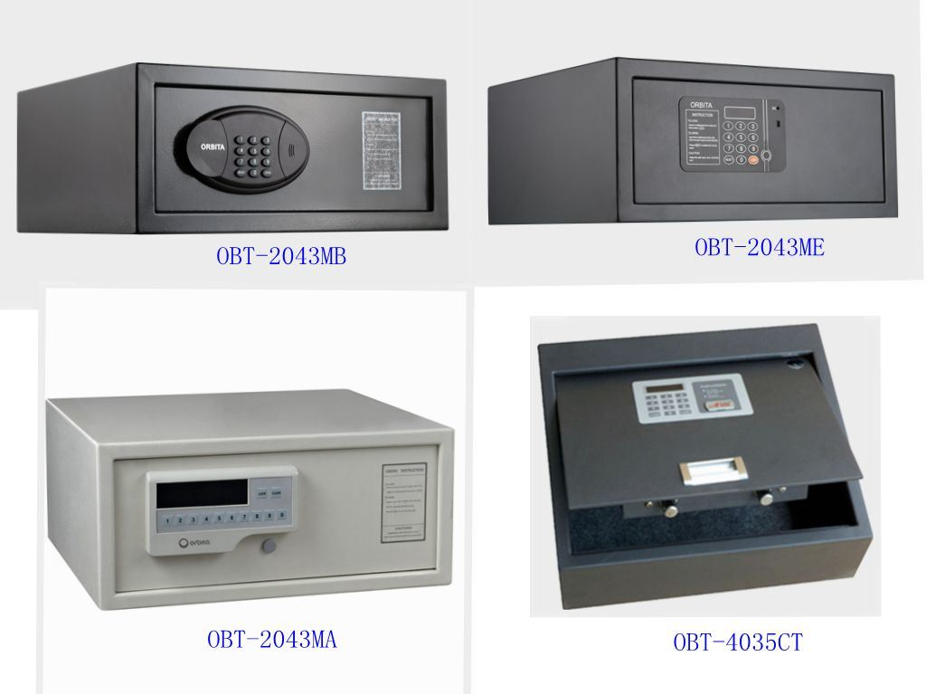 Wholesale Ce Steel Ceu Security Digital Electronic Mini Hotel Room Safe Deposit Box pictures & photos