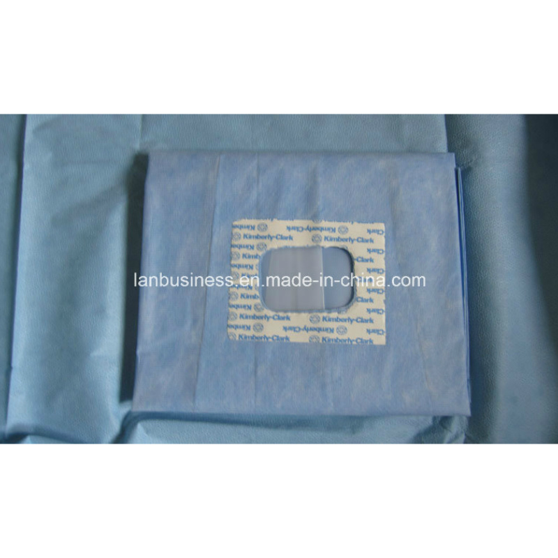 Ly Disposable Eye Drapes Pack Surgical Drapes pictures & photos