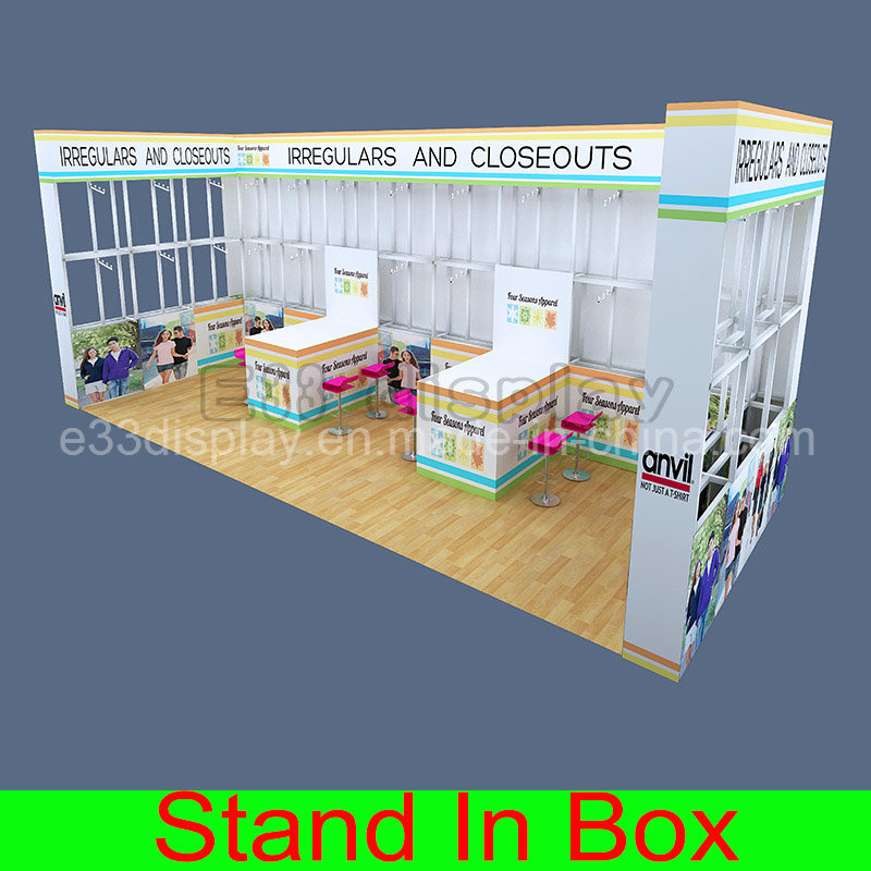 Custom Aluminum Extrusion Portable Modular DIY Exhibition Trade Show Booth