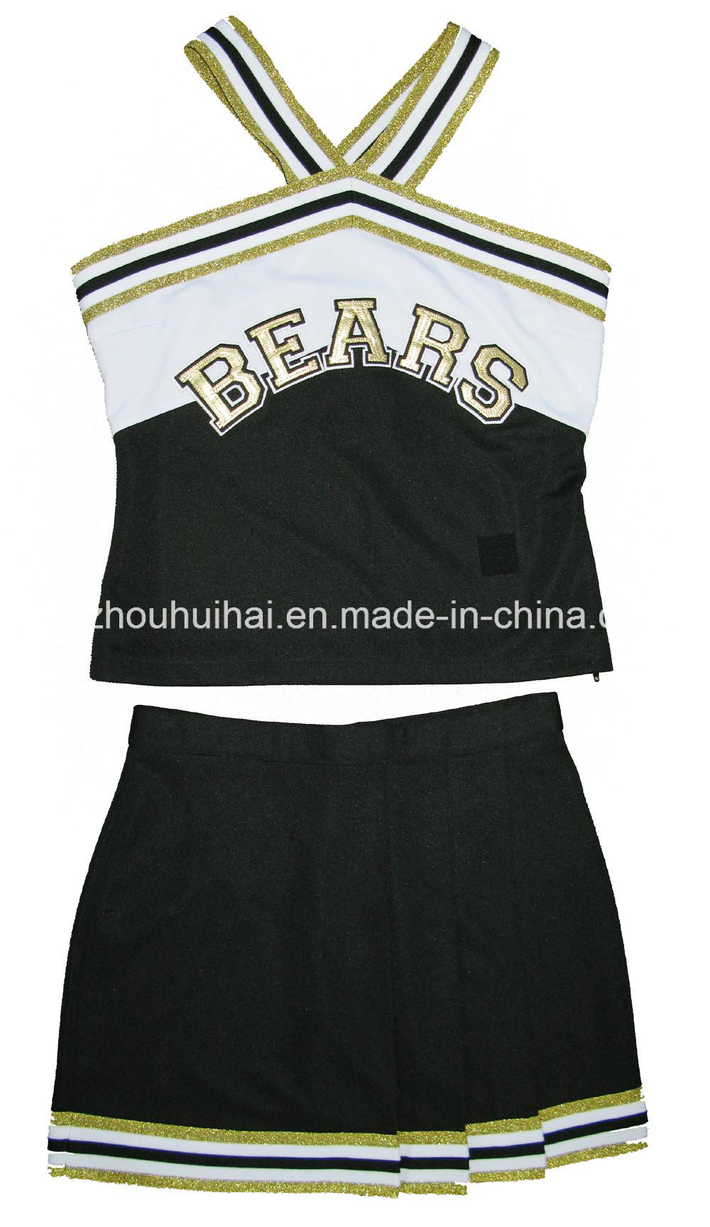 2016 Cheerleading Uniform: Shell Top and Skirt