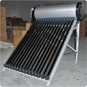 Hot Item Integrated Heat Pipe Pressurized Diy Solar Water Heaters