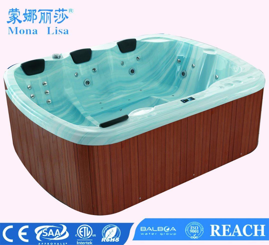 China Special Design Balboa System Outdoor Massage Bathtub Whirlpool ...