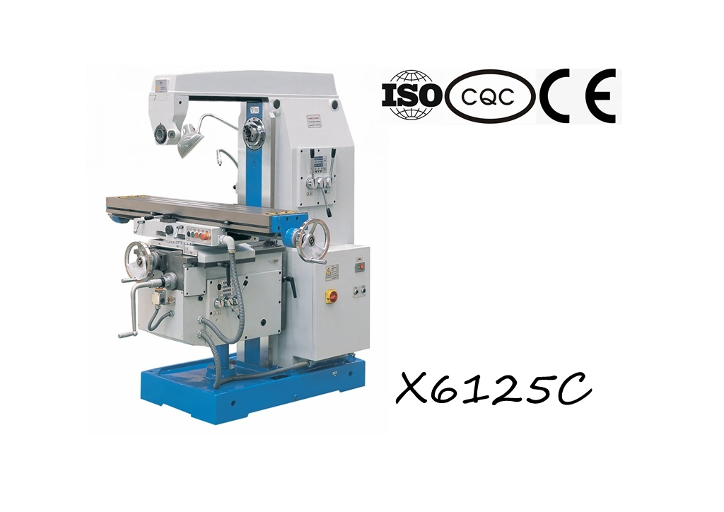 X6125c Universal Knee Type Milling Machine 250*1250