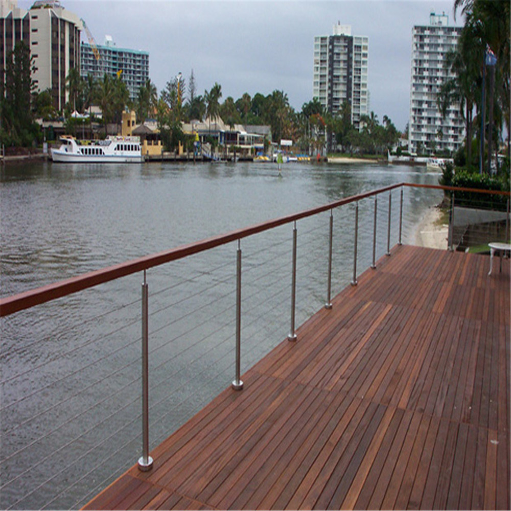 China SUS304/SUS316 Stainless Steel Cable Balustrade /Wire Fencing ...