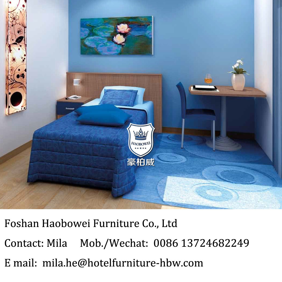 [Hot Item] Apartment Furniture for Single People with Kitchen Dorm Room  Furniture in College