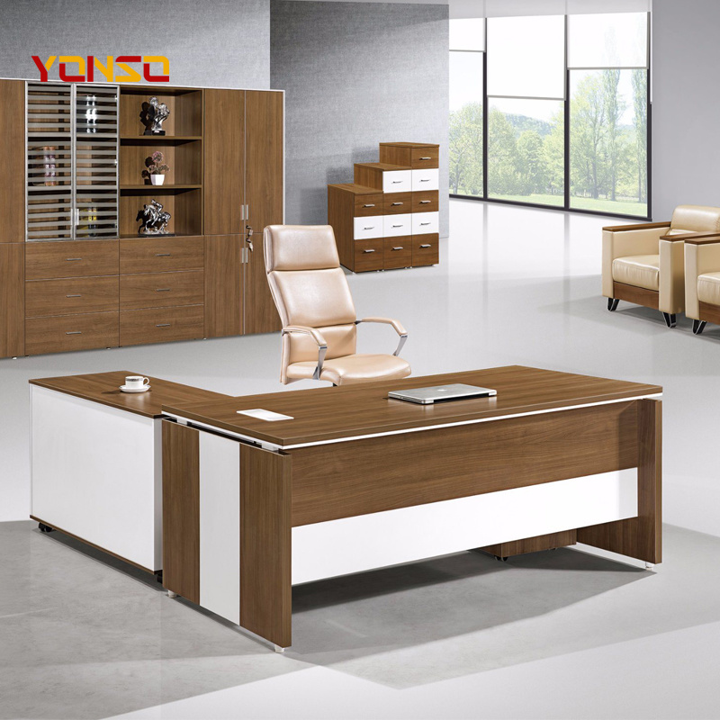 China Office Furniture Suppliers Modern L Shaped Computer