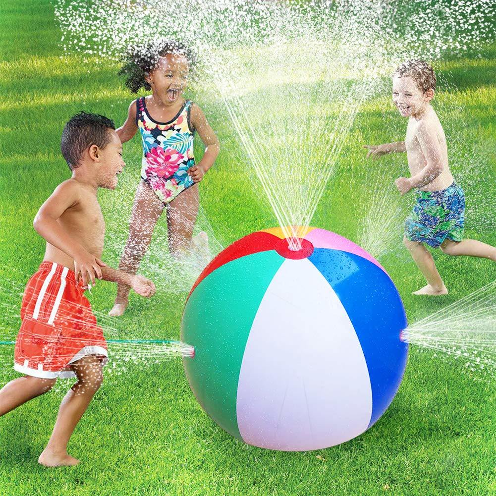 Funny Inflatable Ball Kids Beach Pool Play Toy Ball Children Outdoor Toy