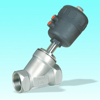 Pneumatic Operated Angle Seat Valve (J611F-1)