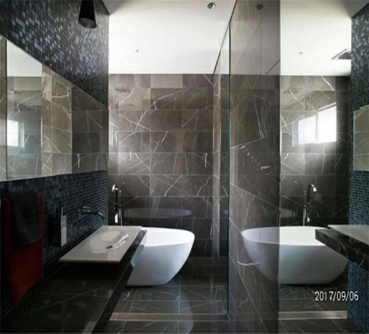 China Pietra Grey Marble Slabs Tiles