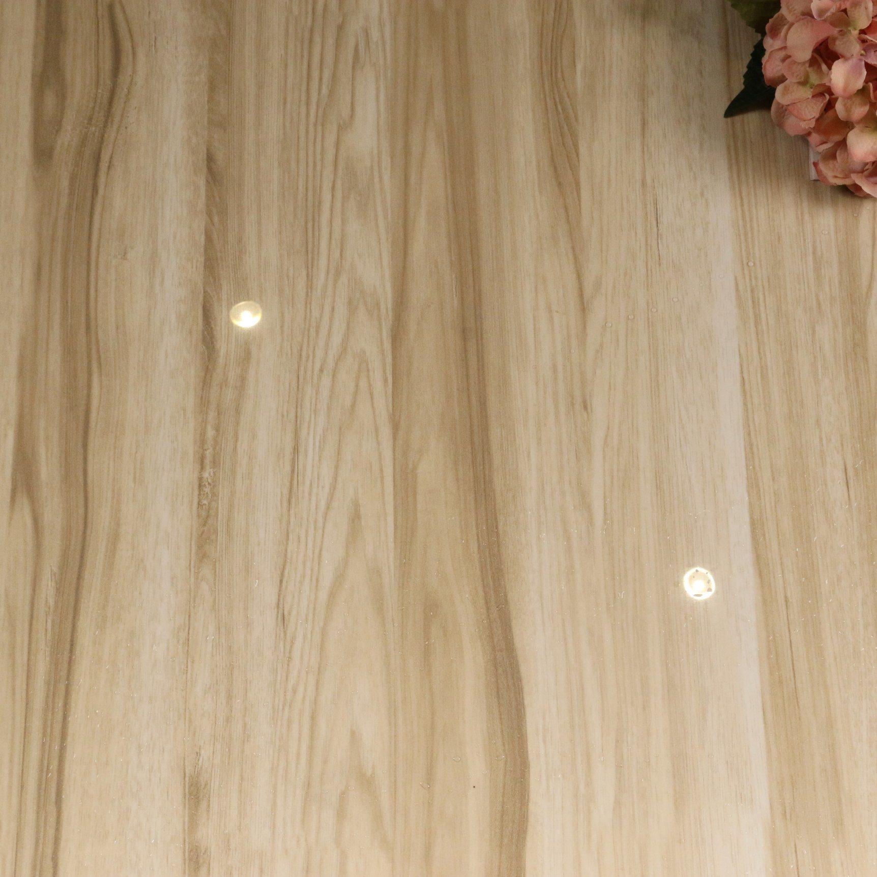 China 20X20 Light Yellow Wood Design Non Slip Polished Glazed ...