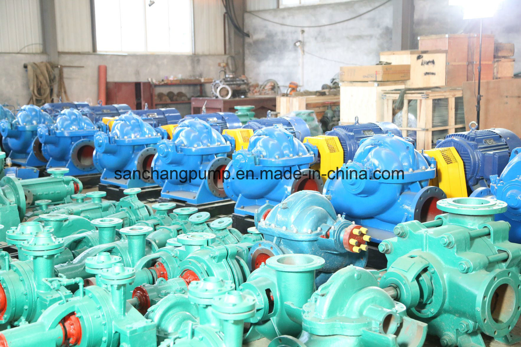 Single Stage Double Suction Split Casing Centrifugal Marine Pumps pictures & photos