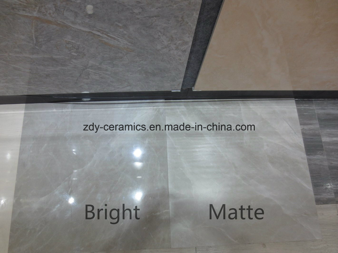 China Building Material Full Polished Glazed Marble Stone Floor ...