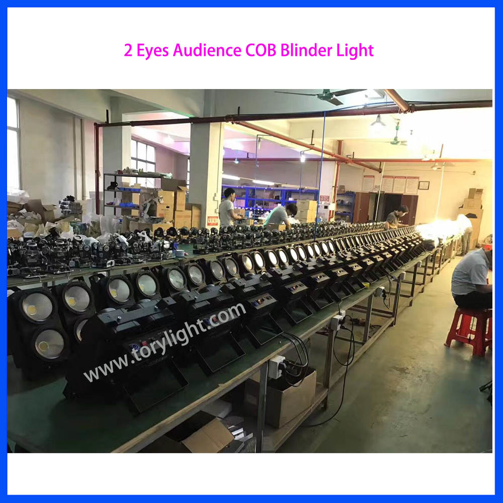 Audience COB 2 Eyes LED Blinder Light pictures & photos
