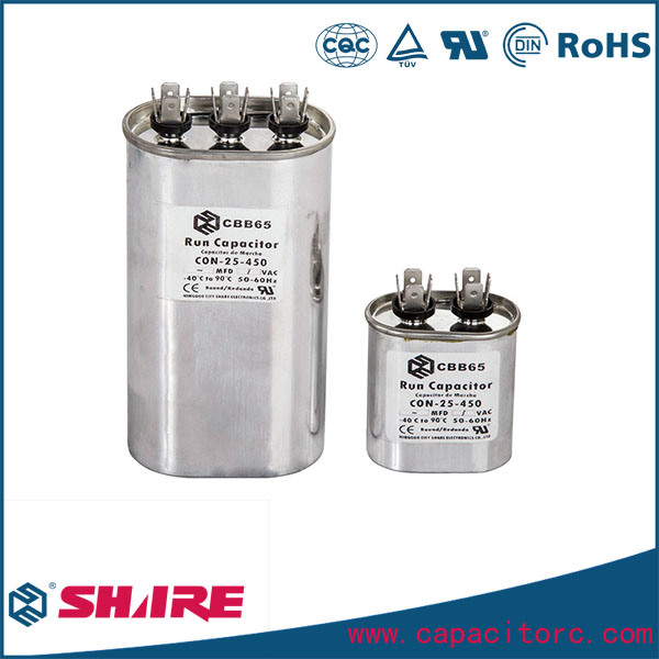 Netallized Polypropylene Film Motor Run Capacitor for Air Conditioning Capacitor