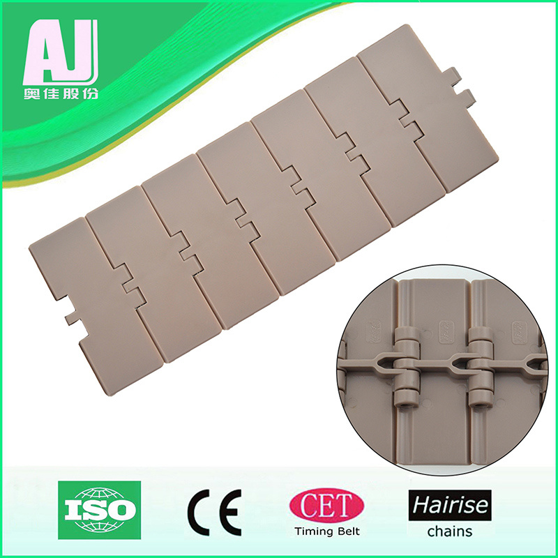 Flexible Flat Top Single Hinge Plastic Conveyor Chain (820-k325) pictures & photos