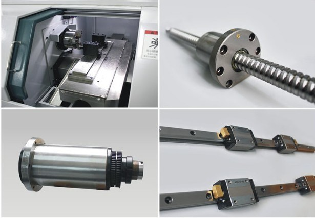 High Precision CNC Machine Lathe with Japanese Fanuc Control System pictures & photos