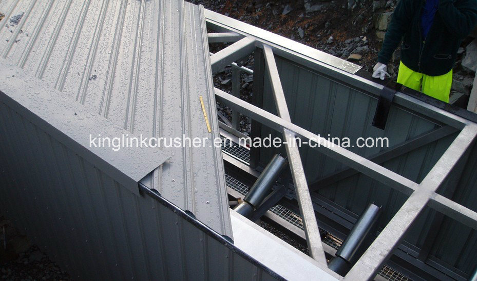 Overland Curved Belt Conveyor / Curved Conveyor /Mining Conveyor pictures & photos