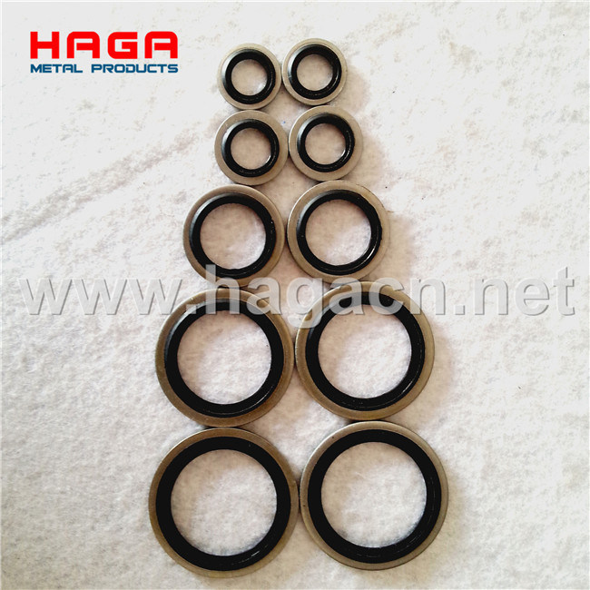 Metric Bsp Self Centering Rubber Metal Hydraulic Bonded Seals