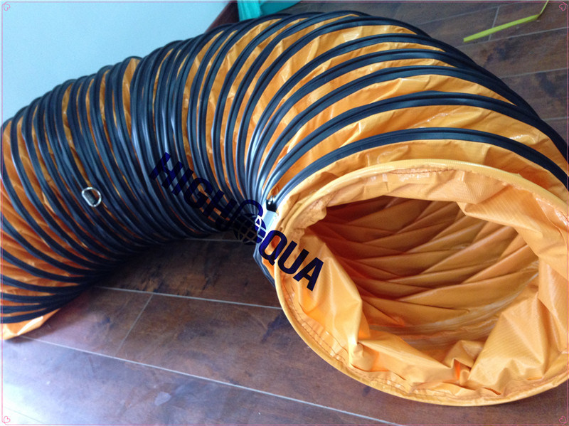 Colorful Flexible Ventilation Duct