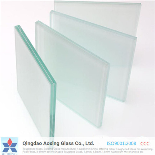 6.38-39.52 PVB Clear/ Colored/Milk White Tempered Laminated Glass pictures & photos
