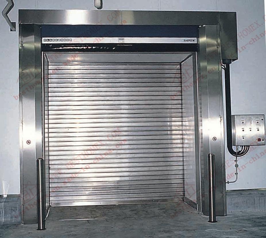 China Stainless Steel Roller Shutter Garage Door (BHS SD01)   China Roller  Shutter, Roller Shutter Door
