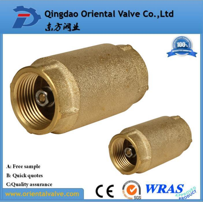 Professional Making Ss Spring Europe Standard Brass Check Valve with Barss Core pictures & photos