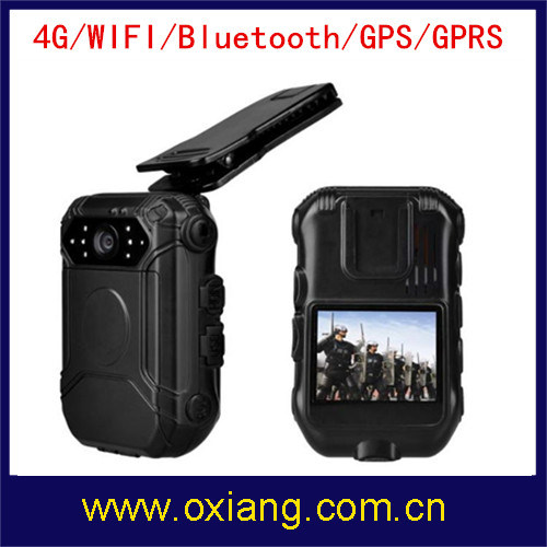 1080P Wearable Police Body Camera with 4G 3G WiFi Buetooth GPS GPRS pictures & photos