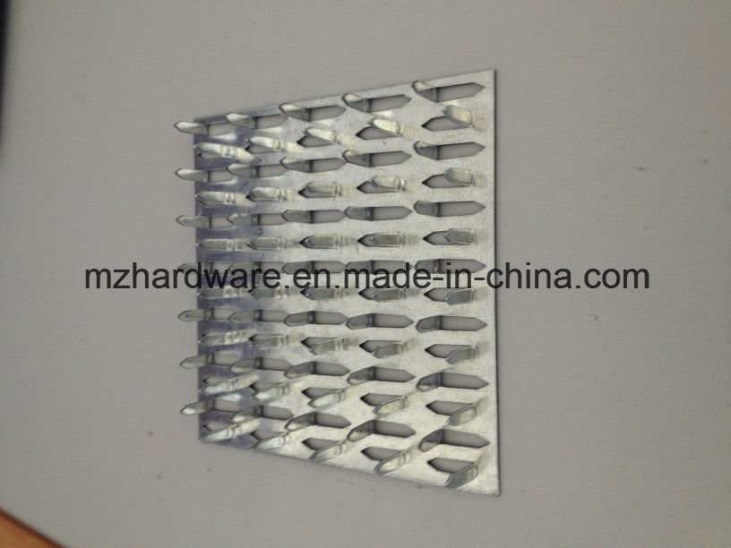 China Construction Timber Connection Zinc Plated Truss Nail Plate ...