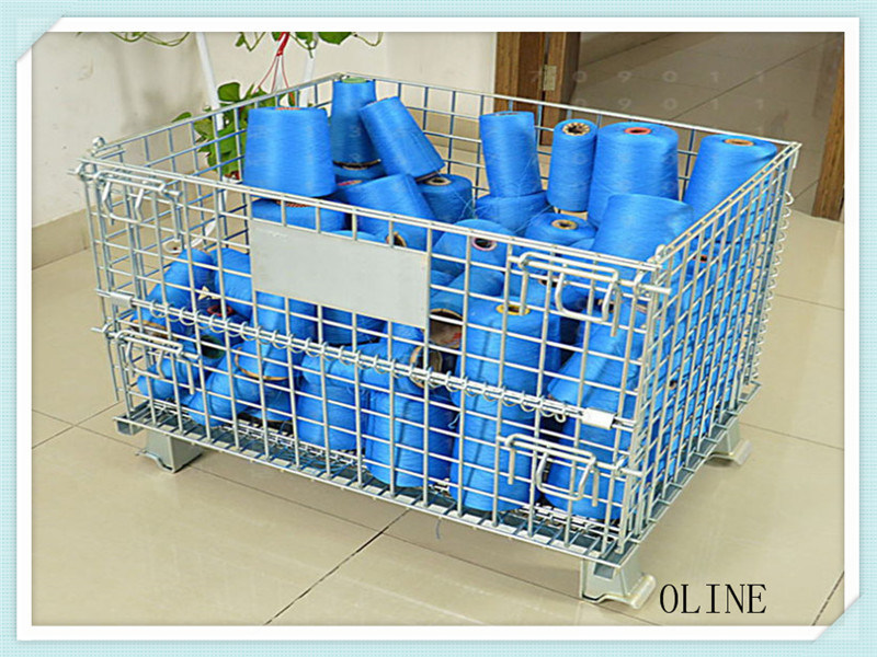 China Stillage Basket for Fabric Roll - China Wire Container, Wire Cage