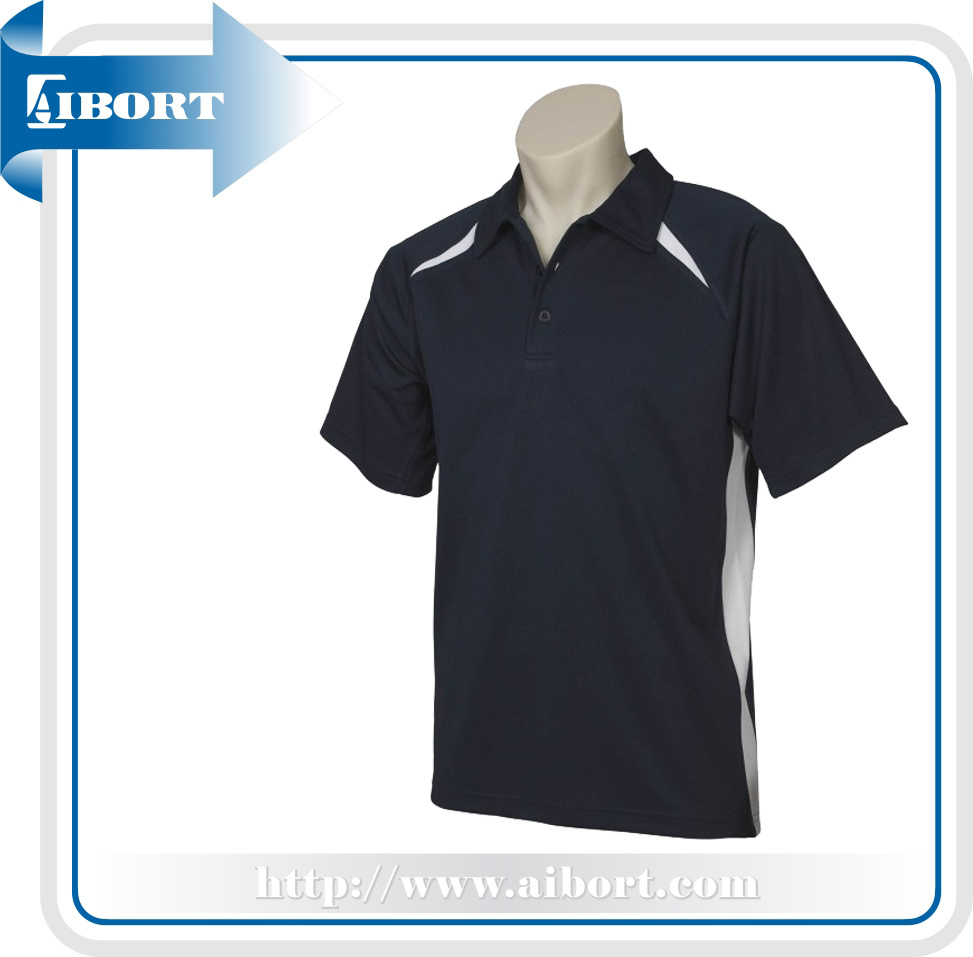 [Hot Item] Plus Size Men Badminton Polo Shirts (ATPL-0141)