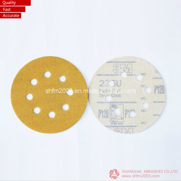 150mm Abrasive Sanding Disc Velcro (3M & VSM Raw Material) pictures & photos