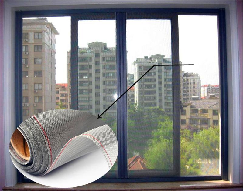 China 18, 20, 22 Mesh Stainless Steel Wire Mesh Window Screen Mesh ...